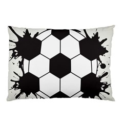 Soccer Camp Splat Ball Sport Pillow Case by Mariart