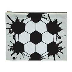 Soccer Camp Splat Ball Sport Cosmetic Bag (xl) by Mariart