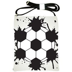 Soccer Camp Splat Ball Sport Shoulder Sling Bags by Mariart