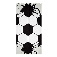 Soccer Camp Splat Ball Sport Shower Curtain 36  X 72  (stall)  by Mariart