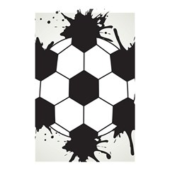 Soccer Camp Splat Ball Sport Shower Curtain 48  X 72  (small)