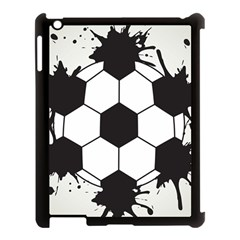 Soccer Camp Splat Ball Sport Apple Ipad 3/4 Case (black) by Mariart
