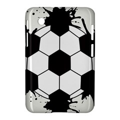 Soccer Camp Splat Ball Sport Samsung Galaxy Tab 2 (7 ) P3100 Hardshell Case  by Mariart
