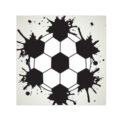 Soccer Camp Splat Ball Sport Small Satin Scarf (square) by Mariart