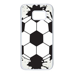 Soccer Camp Splat Ball Sport Samsung Galaxy S7 White Seamless Case by Mariart