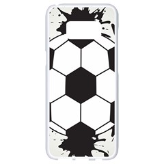 Soccer Camp Splat Ball Sport Samsung Galaxy S8 White Seamless Case by Mariart
