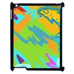 Skatepark Seaworld Fish Apple Ipad 2 Case (black) by Mariart