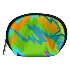 Skatepark Seaworld Fish Accessory Pouches (medium)  by Mariart