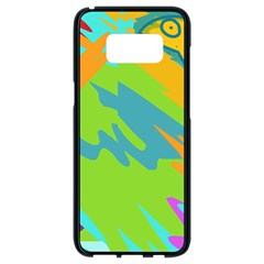 Skatepark Seaworld Fish Samsung Galaxy S8 Black Seamless Case by Mariart