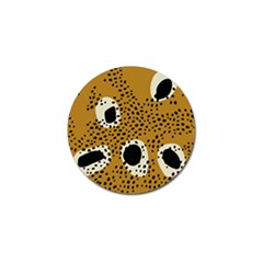 Surface Patterns Spot Polka Dots Black Golf Ball Marker (10 Pack) by Mariart