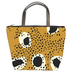Surface Patterns Spot Polka Dots Black Bucket Bags by Mariart