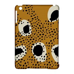 Surface Patterns Spot Polka Dots Black Apple Ipad Mini Hardshell Case (compatible With Smart Cover) by Mariart