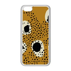 Surface Patterns Spot Polka Dots Black Apple Iphone 5c Seamless Case (white) by Mariart
