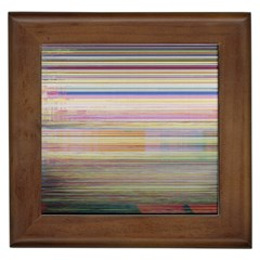 Shadow Faintly Faint Line Included Static Streaks And Blotches Color Framed Tiles by Mariart