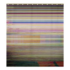Shadow Faintly Faint Line Included Static Streaks And Blotches Color Shower Curtain 66  X 72  (large)  by Mariart