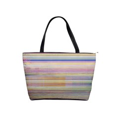 Shadow Faintly Faint Line Included Static Streaks And Blotches Color Shoulder Handbags by Mariart