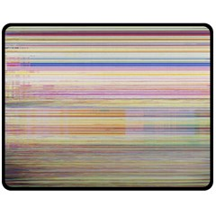 Shadow Faintly Faint Line Included Static Streaks And Blotches Color Fleece Blanket (medium)  by Mariart