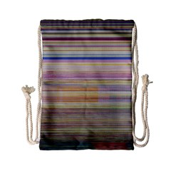Shadow Faintly Faint Line Included Static Streaks And Blotches Color Drawstring Bag (small) by Mariart
