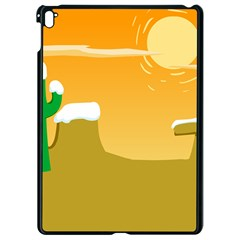 Sunrise Sunset Desert Sun Light Orange Ice Snow Apple Ipad Pro 9 7   Black Seamless Case by Mariart