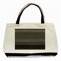Shadow Faintly Faint Line Included Static Streaks And Blotches Color Gray Basic Tote Bag by Mariart