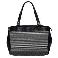 Shadow Faintly Faint Line Included Static Streaks And Blotches Color Gray Office Handbags (2 Sides)  by Mariart