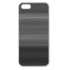 Shadow Faintly Faint Line Included Static Streaks And Blotches Color Gray Apple Seamless Iphone 5 Case (clear) by Mariart