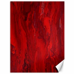 Stone Red Volcano Canvas 36  X 48   by Mariart