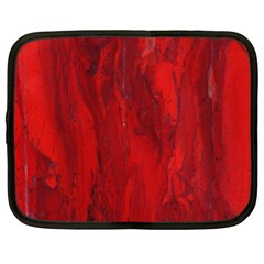 Stone Red Volcano Netbook Case (xxl)  by Mariart