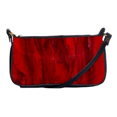 Stone Red Volcano Shoulder Clutch Bags by Mariart