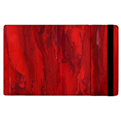Stone Red Volcano Apple Ipad 2 Flip Case by Mariart