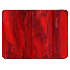 Stone Red Volcano Samsung Galaxy Tab 7  P1000 Flip Case by Mariart