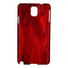 Stone Red Volcano Samsung Galaxy Note 3 N9005 Hardshell Case by Mariart