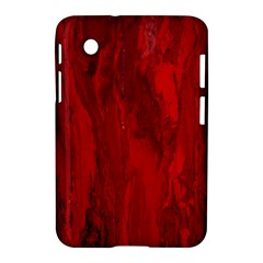 Stone Red Volcano Samsung Galaxy Tab 2 (7 ) P3100 Hardshell Case  by Mariart