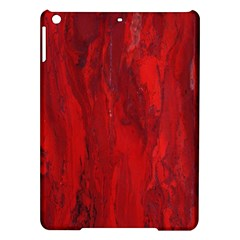 Stone Red Volcano Ipad Air Hardshell Cases by Mariart