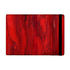 Stone Red Volcano Ipad Mini 2 Flip Cases by Mariart