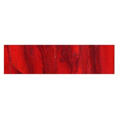 Stone Red Volcano Satin Scarf (oblong) by Mariart