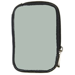Ash Gray Solid Color  Compact Camera Cases by SimplyColor