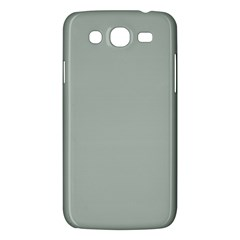 Ash Gray Solid Color  Samsung Galaxy Mega 5 8 I9152 Hardshell Case  by SimplyColor