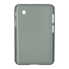 Ash Gray Solid Color  Samsung Galaxy Tab 2 (7 ) P3100 Hardshell Case  by SimplyColor