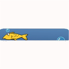 Water Bubbles Fish Seaworld Blue Small Bar Mats by Mariart