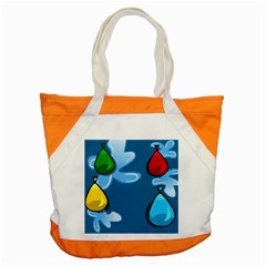 Water Balloon Blue Red Green Yellow Spot Accent Tote Bag by Mariart