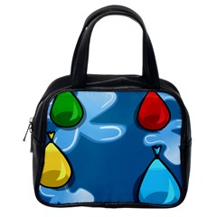 Water Balloon Blue Red Green Yellow Spot Classic Handbags (one Side) by Mariart