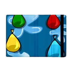 Water Balloon Blue Red Green Yellow Spot Apple Ipad Mini Flip Case by Mariart