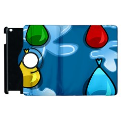 Water Balloon Blue Red Green Yellow Spot Apple Ipad 2 Flip 360 Case by Mariart