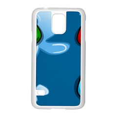 Water Balloon Blue Red Green Yellow Spot Samsung Galaxy S5 Case (white) by Mariart