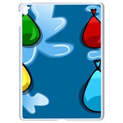 Water Balloon Blue Red Green Yellow Spot Apple Ipad Pro 9 7   White Seamless Case by Mariart