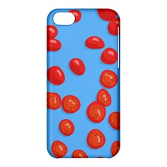 Tomatoes Fruite Slice Red Apple Iphone 5c Hardshell Case by Mariart