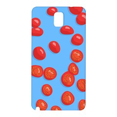 Tomatoes Fruite Slice Red Samsung Galaxy Note 3 N9005 Hardshell Back Case by Mariart