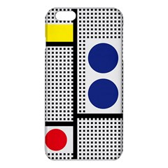 Watermark Circle Polka Dots Black Red Yellow Plaid Iphone 6 Plus/6s Plus Tpu Case by Mariart