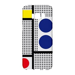 Watermark Circle Polka Dots Black Red Yellow Plaid Samsung Galaxy S8 Hardshell Case  by Mariart